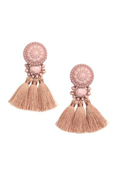 Earrings with tassels | H&M