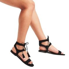 Women's Mavis Gladiator Sandals Merona - Black 7.5