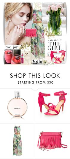 """Shein contest"" by irmica-22 ❤ liked on Polyvore featuring Chanel, Ashley Stewart, Rebecca Minkoff, Kershaw and shein"