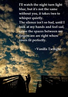 Owl City -vanilla twilight.