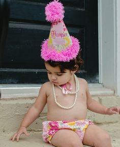 RuffleButts | Gabby Garden Birthday Hat