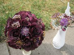 Beginnings of my brooch bouquet. What do you think? - Weddingbee