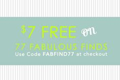 Claim your $7 now and save on 77 gorgeous pieces! We've gathered together this huge selection to please even the pickiest shoppers.  Find a piece you love, and save now!