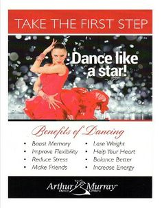 Come to Arthur Murray Sarasota and learn how to dance a variety of modern and traditional dance moves. Arthur Murray, Sarasota Florida, Take The First Step, Dance Studio, Dance Moves, How To Increase Energy, Dancing, Stress, Traditional
