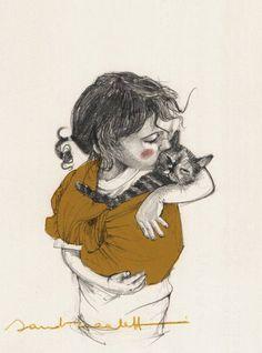 Lovely Drawings by Sandra Caleffi