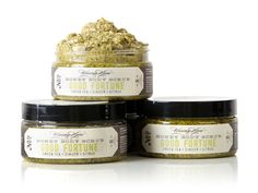 Waxing Kara Body Scrub Good Fortune with green tea, ginger, and citrus