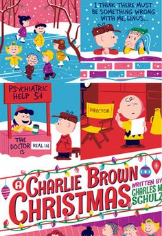 Officially licensed A Charlie Brown Christmas prints by Dark Hall Mansion