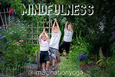Why Kids Yoga? MINDFULNESS Kids learn to connect more deeply with their inner self, and they develop an intimate relationship with the natural world that surrounds them. #Mindful #mindfulness #mindup #Namaste #Yoga  #kidsyoga #whykidsyoga #yoga
