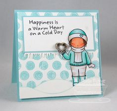 PI Warm Winter, Darling Dots, Icicle Border Die-namics, Snow Drifts Die-namics - Michele Boyer #mftstamps