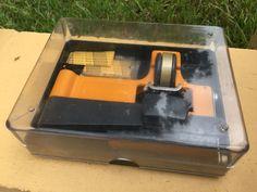 GUILLOTINE SUPER 8 SPLICER In Box W/Splicing Tape & New Kodak Presstape Super 8