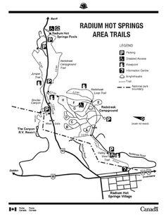 Kootenay National Park of Canada    Hiking and Walking