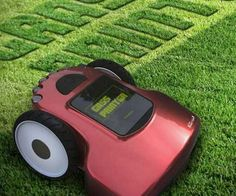 With the grass printer lawn mower, you're not simply doing chores, you're creating customized landscapes. This unique mower allows your creativity to run wild...