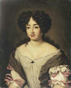 Portrait de la duchesse Giacinta Conti Cesi, par Jacob Ferdinand Voet