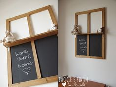 #dremel4home #finestra #lavagna @bricioleepuntini #chalkboard #windows #idea #dremel