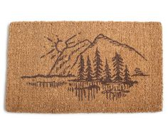 Sunrise Door Mat