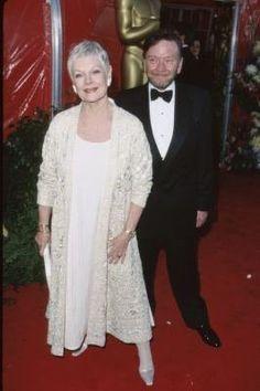 Judi Dench and Michael Williams. Two lovely people with whom I had the preveledge of working.
