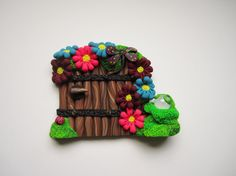 Fairy Door by DawnsClayFantasy on Etsy