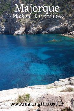 Voyage à #Majorque 1 semaine - vacances #Espagne dans les îles Baléares au printemps en Mai - #itinéraire détaillé road trip avec des randonnées, des #plages magnifiques, des restaurants, le budget ...