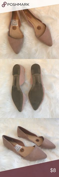 Blush Flats Cute, comfy flats worn once to a wedding. Seychelles Shoes Flats & Loafers