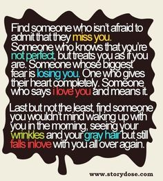 Find someone who isn't afraid to admit that they miss you Cute Quotes, Great Quotes, Funny Quotes, Inspirational Quotes, Meaningful Quotes, Encouraging Sayings, Witty Sayings, Quotes App, Quotes Pics