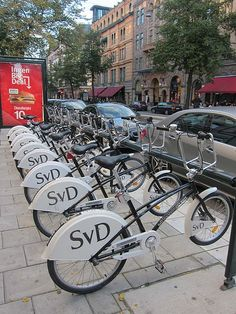 Stockholm is a perfect place for exploring by bike