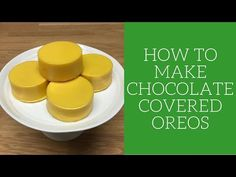 How to make chocolate covered Oreos - YouTube