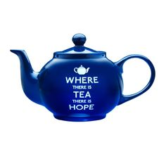 Where there is Tea there is Hope 6-Cup Teapot - Whittard