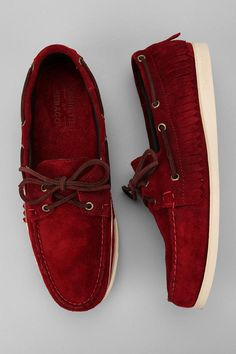 huge discount a3d93 82608 Ronnie Fieg by Sebago Fringe Campside Moccasin UrbanOutfitters New Man  Clothing, Moccasins Mens,