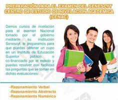 PREPARACION PARA EL EXAMEN DEL SENESCYT MARZO 2015
