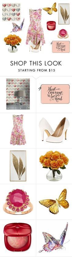 """""""Have Courage & Be Kind"""" by fashion2religion ❤ liked on Polyvore featuring Casetify, Miss Selfridge, Michael Antonio, Malaika, Jane Lee McCracken and Beauty"""
