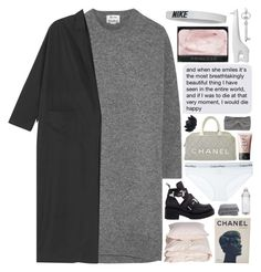 """""""tremor"""" by anavukadinovic ❤ liked on Polyvore featuring Acne Studios, Monki, NARS Cosmetics, Jeffrey Campbell, Aiayu, Calvin Klein Underwear, Chanel, Sia, NIKE and Jonathan Adler"""