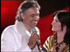 "Andrea Bocelli & Laura Pausini 2007 ""Dare To Live"" (Vivere)  i didn't know there was an English version of Vivere!"