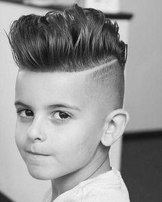 coiffure mode enfant 5 ans faire coupe banane tendance garcon jeune