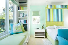 30+Colorful+Bedrooms+That+Will+Inspire+You+to+Redecorate  - HouseBeautiful.com