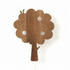 Ferm Living has created beautiful wooden lamps for the kids' If you wish to decorate with style and a touch of Scandinavian design your children's room, Ferm Living lamps are all you need.