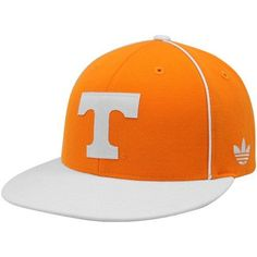 adidas Tennessee Volunteers Flat Visor Snapback One Size Fits All by adidas. $19.00. adidas Tennessee Volunteers Tennessee Orange-White Piped Snapback Adjustable HatOfficially licensed collegiate product80% Acrylic/20% WoolContrast color flat billImportedAdjustable plastic snap strapQuality embroideryStructured fitSix panels with eyeletsTwill applique logoContrast piping80% Acrylic/20% WoolStructured fitAdjustable plastic snap strapTwill applique logoQuality embroideryContras...