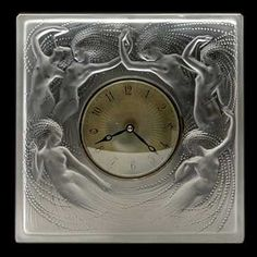 René Lalique clock.