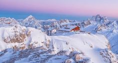 If you're tired of running into families you see at the school gate, try skiing in Cortina d'Ampezzo instead, says Andrew Dent.