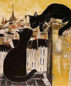 Pintura do francês Jiel