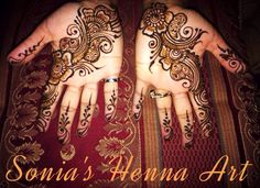 Party design  By Sonia's Henna Art