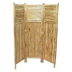 Bamboo54 Bamboo Screen Horizontal and Vertical Room Divider - 5318, Durable