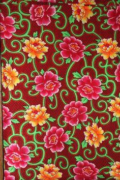 Papier peint traditionnelle motif paisley floral textile for Papier peint motif chinois