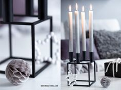 Kubus By Lassen Ombre Candles Living Room
