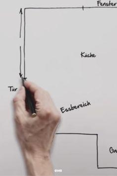 Der erste Entwurf deiner neuen Küche - wie funktioniert das eigentlich? Worauf solltest du dich vorbereiten? Und wie wird dein ewe Küchenplanungsprofi es schaffen, deine für dich perfekte Küche zu planen? Finde alles heraus auf unserem ewe Küchenerstentwurf-Video! Küchen Design, Videos, Math Equations, Mockup, Tips