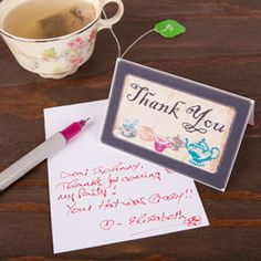 Alice in Wonderland Thank You Cards free from family fun