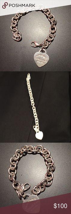 TIFFANY & Co. Return to TIFFANY.   .925 Sterling Silver Tiffany & Co. Jewelry Bracelets