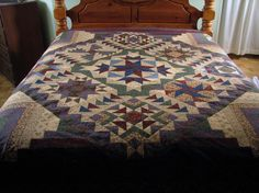 """Back to Nature Quilt by """"barnbum"""" from the quiltingboard.com"""
