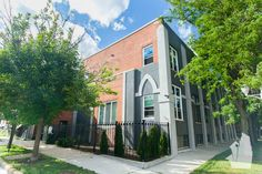 This stunning 3 level, 4 bedroom, 2 bathroom duplex loft features exposed brick and beam ceilings, remodeled kitchen, renovated master bath with high-end finishes, wood burning fireplace and private patio! Available 10/1 for $2600 per month including 1 garage parking spot! Call us for a tour today!