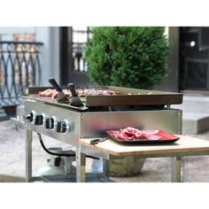 Stainless Steel Outdoor Propane Gas Griddle BBQ Cooking Station Listing in the BBQ,Garden, Yard & Plants,Home & Garden Category on eBid United States | 149217159