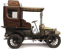 1903 WHITE MODEL C STEAM CAR DEMI-LIMOUSINE